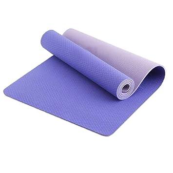 GOPG TPE Estera de Yoga - Alfombra de Fitness para ...
