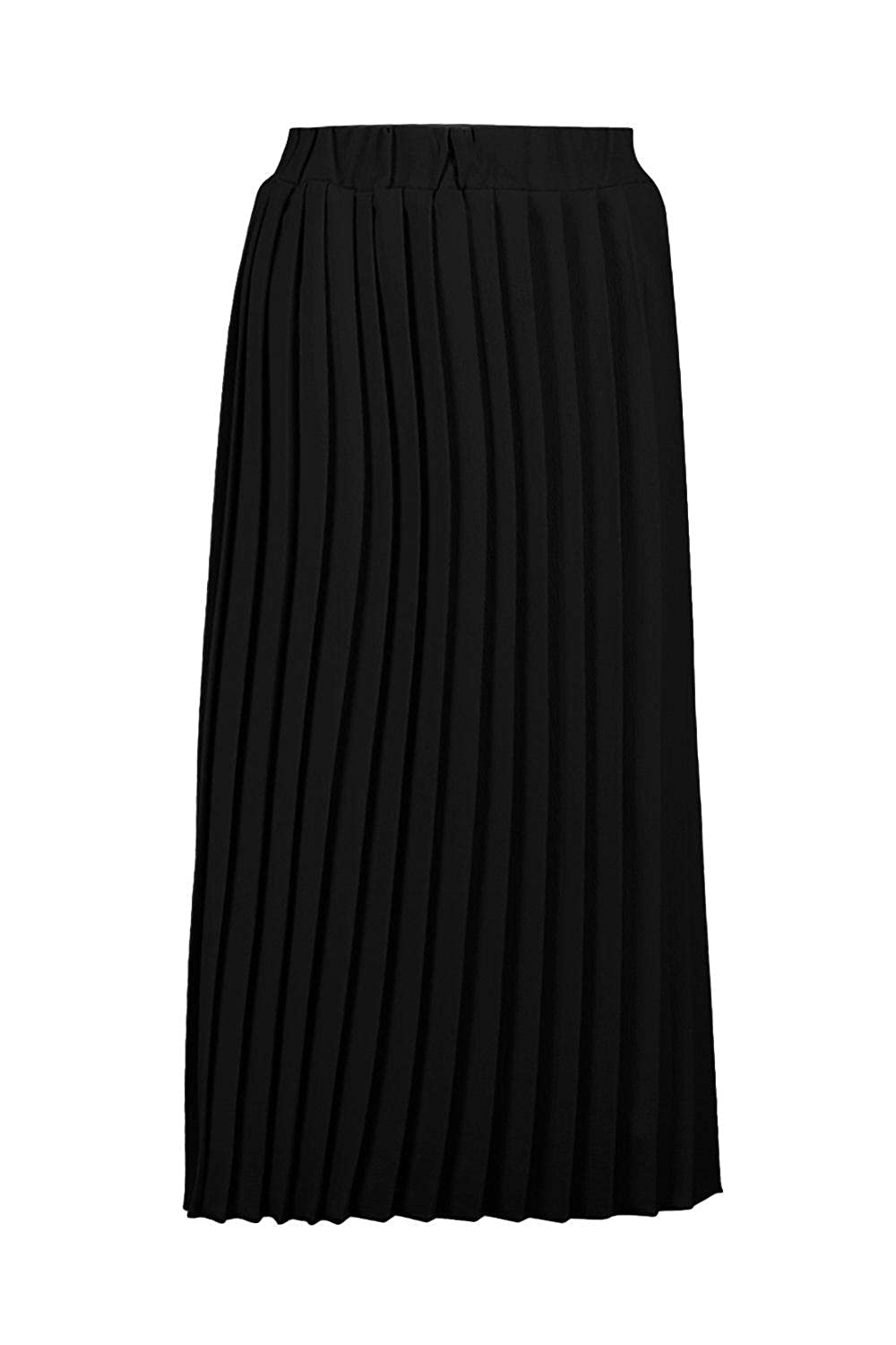 fcc6b6680 Boohoo Womens Neave Textured Crepe Pleated Midi Skirt in Black size 4:  Amazon.ca: Clothing & Accessories