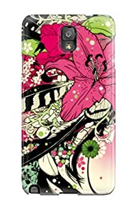 Top Quality Protection Artistic Abstract Case Cover For Galaxy Note 3 wangjiang maoyi