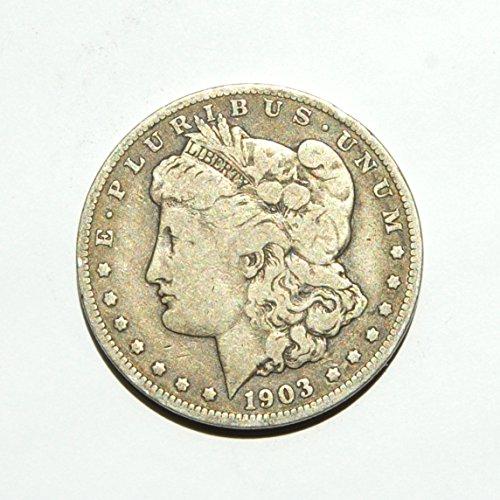 1903 United States of America Morgan Silver (90%) Dollar $1 Choice Fine Details