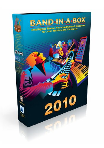 Band-in-a-Box 2010 Pro [Old Version, Win DVD-ROM]