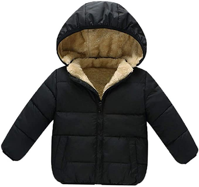 Goodkids Baby Girls Boys' Winter Fleece Jackets with Hooded
