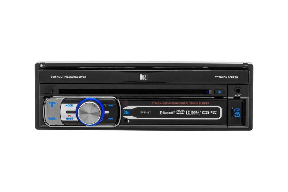 amazon com dual electronics dv516bt multimedia detachable 7 inch rh amazon com Manual Dual Cd1765 Walmart Dual Car Stereo