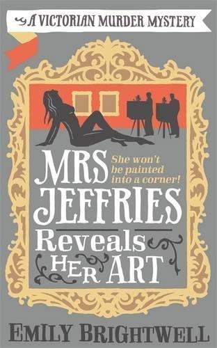 book cover of Mrs Jeffries Reveals Her Art