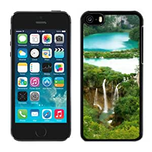 Nature Fairy Waterfall Forest Landscape Durable High Quality iPhone 5C Phone Case