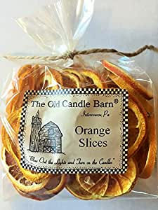 Dried Orange Slices For Crafting, Potpourri, or Decorative Bowl Filler - 2 Cup Bag