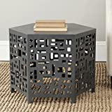 Safavieh American Homes Collection Kelby Charcoal Grey End Table