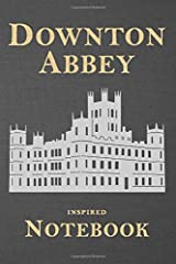 Downton Abbey Inspired Notebook: Stylish and illustrated blank ruled paper that's perfect for one's notes (Unauthorized) Paperback