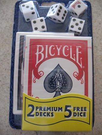 Amazon.com: Bicicleta 2 Premium Barajas de Cartas Naipes ...