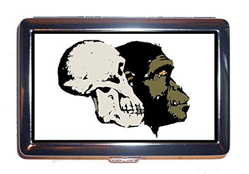 Old Cigarette Cards - Cigarettes Case Evolution Skull Head Old Artifact Excavation Bone (Cigarettes box)