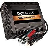 Duracell DRINVP150 - Inversor de Corriente portátil (150 W), Color Negro, 400 vatios, Negro