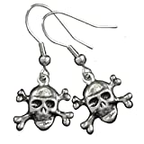 Search : Hot Leathers JWE1103-4351 Skull and Crossbones Earring