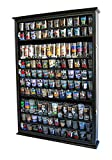 Large 144 Shot Glass Display Case Holder Cabinet Shadow Box,...