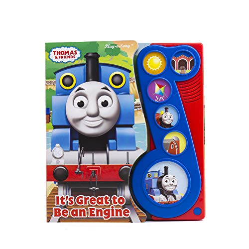 Thomas & Friends - It's Great to Be an Engine Little Music Note Sound Book - PI Kids ()