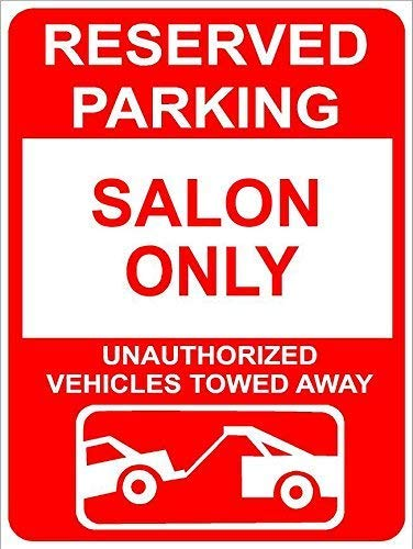Kevin Porter Tin Sign New Metal Sign Funny Salon Reserved Parking only Family Name Novelty Sign 11.8