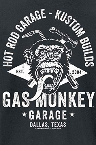 Gas Monkey Garage Torch & Hammer Camiseta Negro: Amazon.es: Ropa y ...