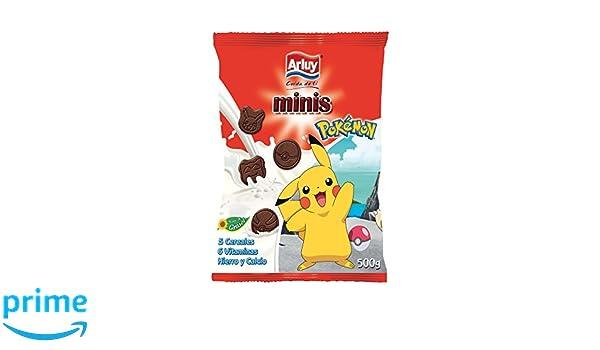 Arluy Galletas Minis Pokémon Choco - Paquete de 10 x 500 gr - Total: 5000 gr: Amazon.es: Alimentación y bebidas