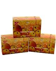 Apricot Flavor SOEX Hookah Shisha Authentic Herbal Molasses 3 Packs x 50g - Total 150gr