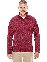 Devon & Jones Dg792 Men's Bristol Half Zip Fleece Sweater