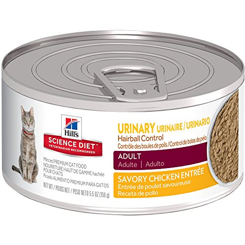 Top 10 Hairball Urinary Cat Food