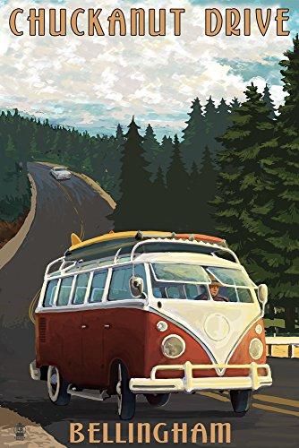 Chuckanut Drive - Bellingham, WA - VW Van