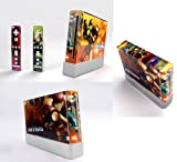 Metroid Prime Skin Sticker Cover For Nintendo WII Console and 2 Remotes