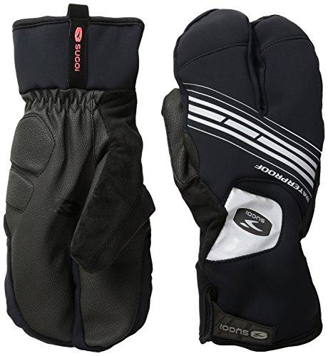 Sugoi Zap Subzero Split Glove, Black, X-Large (Gore Stretch Mittens)