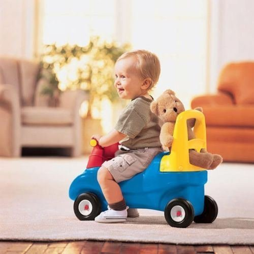 Little Tikes Combo Push & Ride Racer - Scooter Walker Toddler Foot to Floor Toy