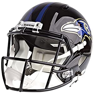 Baltimore Ravens Officially Licensed Speed Full Size Replica Football Helmet