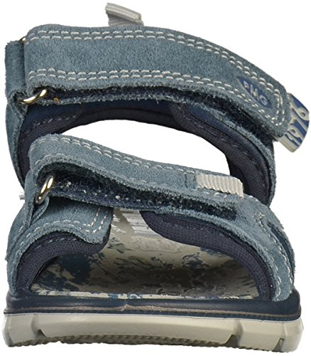 PRIMIGI 1396411 Sandalias Zapatos de Bebé EN Cuero Azul Made In Italy