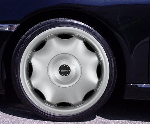 Tapacubos RIWA Plata 15 Pulgadas Opel Omega, Signum, Tigra ...