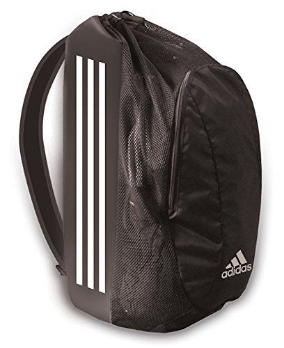 adidas Wrestling Gear Bag, Black/White