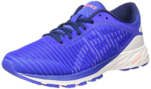 Running Asics white Blue Purple De indigo Dynaflyte Para Morado Mujer Zapatillas 2 blue wffOqF