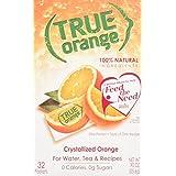 True Orange Crystallized Fruit Wedge, 32 Pack
