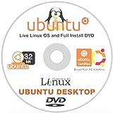 Ubuntu 16.04 Linux Desktop - 32-Bit 64-Bit Support - 2 Disc DVD Set - New Release