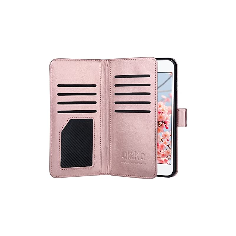 ULAK iPhone 8 Plus Wallet Case, iPhone 7