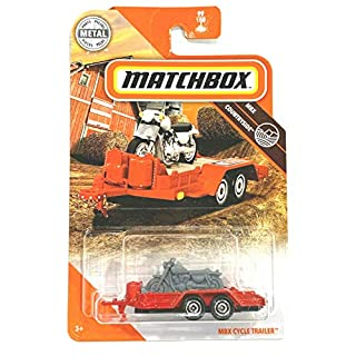 Matchbox 2020 MBX Countryside#99/100, MBX Cycle-Trailer (red)