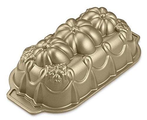 Nordic Ware Pumpkin Loaf Pan - Nonstick Cast