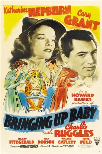Bringing Up Baby Movie Poster - Style D