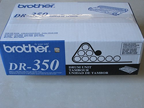 Brother DR350 - Drum kit - 1 - 12000 pages - for DCP 7020, FAX 2820, 2920, HL-20XX, IntelliFAX 282 - (Fax Drum Kit)