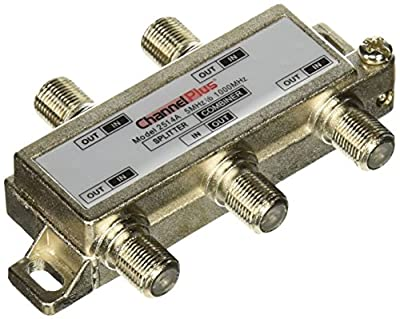 Linear 2514 ChannelPlus DC & IR Passing 4-Way Splitter/Combiner