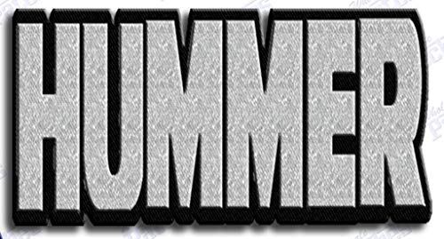 HUMMER IRON ON EMBROIDERED PATCH PATCHES …. SIZE - for sale  Delivered anywhere in USA