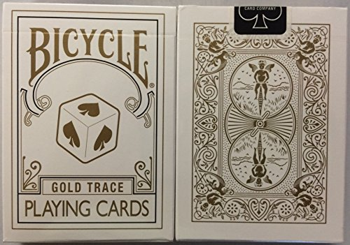 - Bicycle Gold Trace Deck Playing Cards