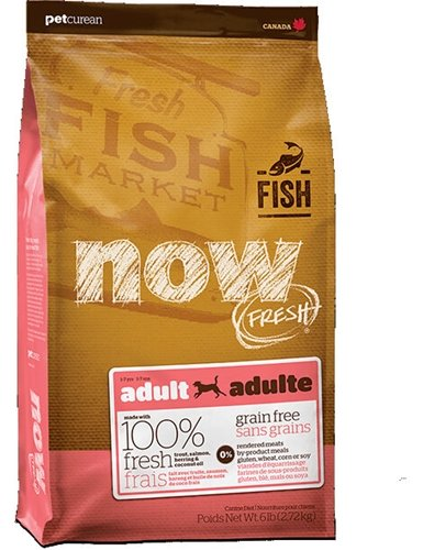 Now Fresh Grain-Free Fish Adult Recipe Dog Food – 25 lb For Sale