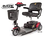 Golden Technologies - Buzzaround XL - Travel Scooter - 3-wheel - Red