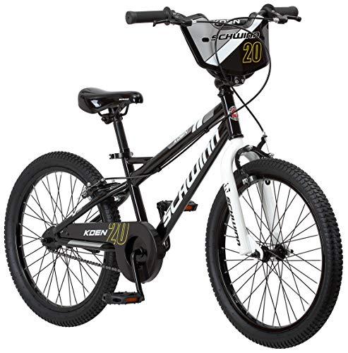 """Schwinn Koen Boy's Bike with SmartStart, 20"""" Wheels, Black"""