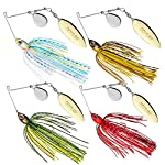 Goture Double Willow Blade Spinnerbait Fishing Lures