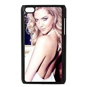 Celebrities Kate Upton White Dress iPod Touch 4 Case Black DIY gift pp001-6386450