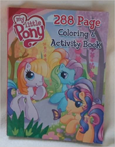 Book My Little Pony Coloring & Activity