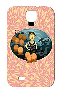 TPU Navy Cute Cameron Weaver Geek Nerd Newt Aliens Space Horror Movie Weaving Some Aliens Case Cover For Sumsang Galaxy S4